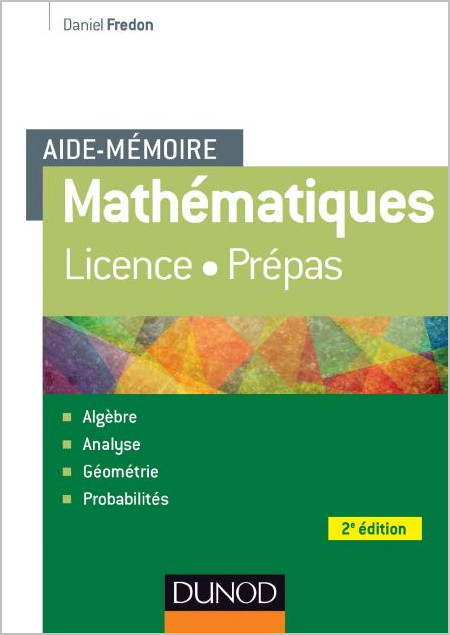 Aide-Mémoire – Mathématiques