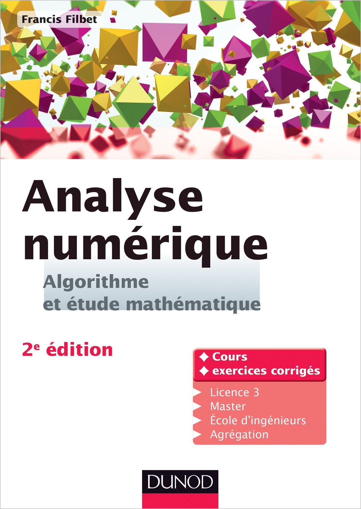 Analyse numérique – Algorithme et étude mathématique