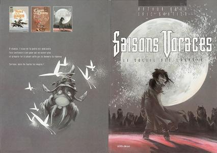 Le Soleil des Loups – Tome 3 – Saisons Voraces
