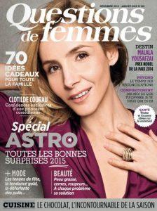 Questions de Femmes N°201 - Décembre 2014-Janvier 2015