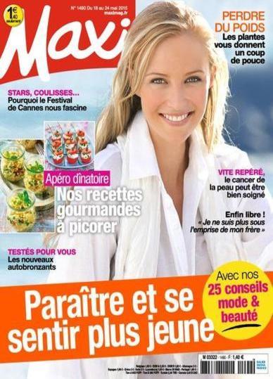 Maxi N°1490 Du 18 Avril au 24 Mai 2015