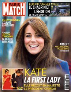 Paris Match N°3467 Du 29 Octobre au 4 Novembre 2015