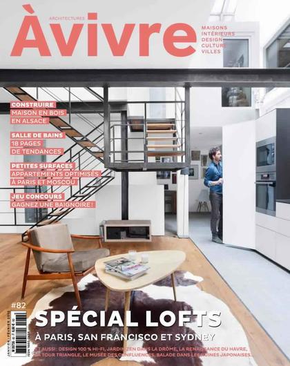 Architectures à Vivre N°82 – Janvier-Février 2015