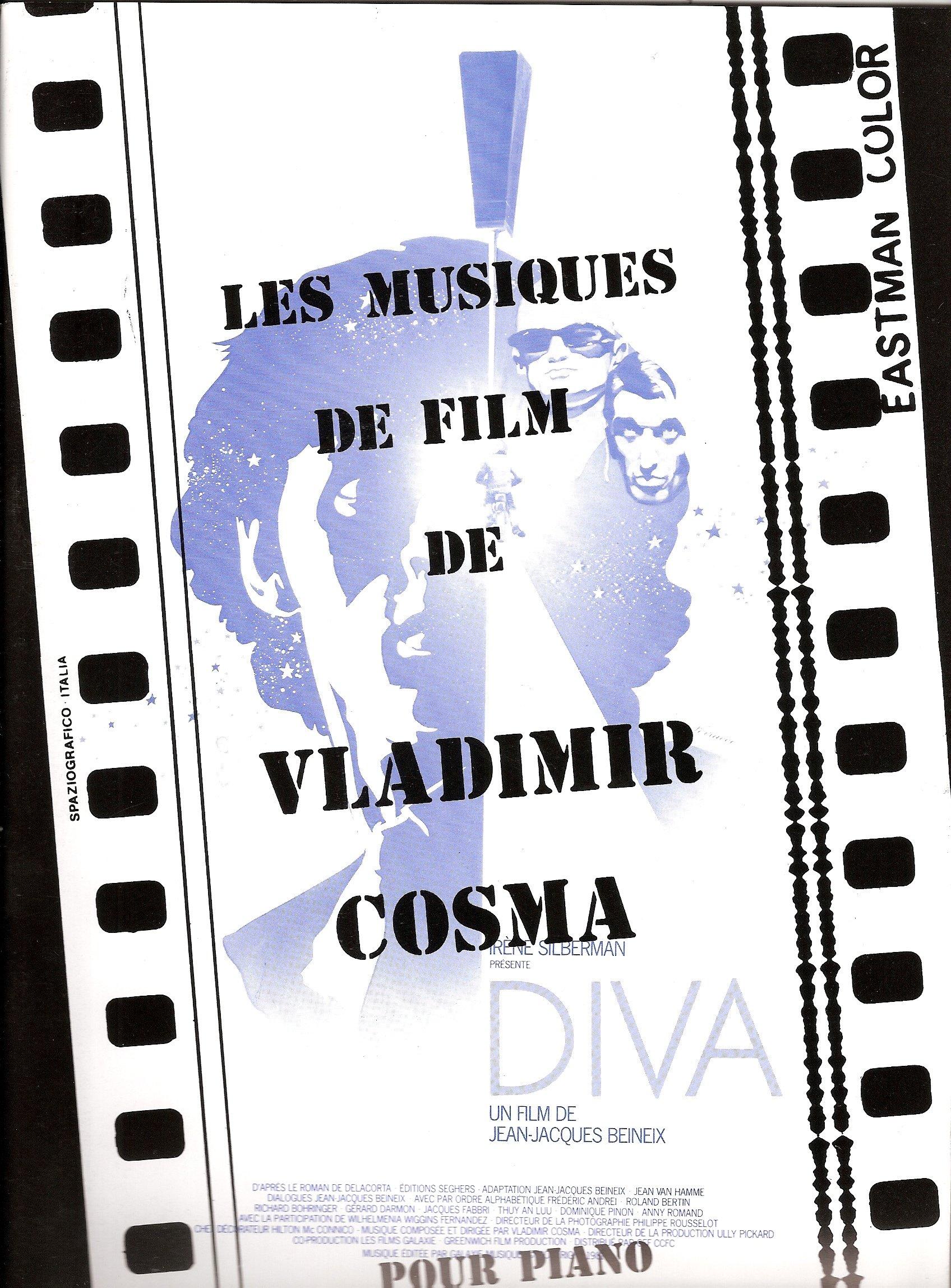 Les Musiques de Film de Vladimir Cosma Vol. 1 – Partition Piano