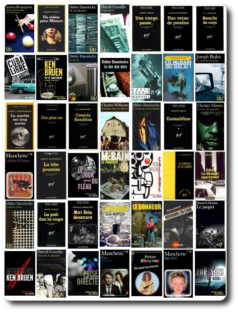 Serie Noire Gallimard - Pack  (630 Livres)