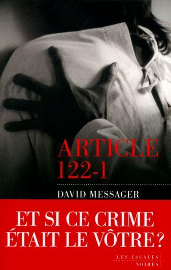 Article 122-1 de David MESSAGER 2016