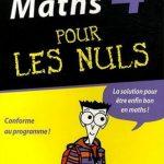 Maths 4 ème pour les nuls