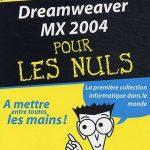 Dreamweaver MX Pour Les Nuls