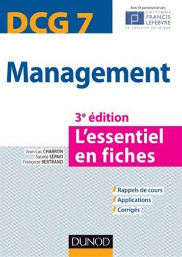 DCG 7 – Management – Dunod – 2014/2015