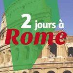 2 jours à Rome : Des cartes