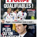 L'Equipe Du Vendredi 10 Mars 2017