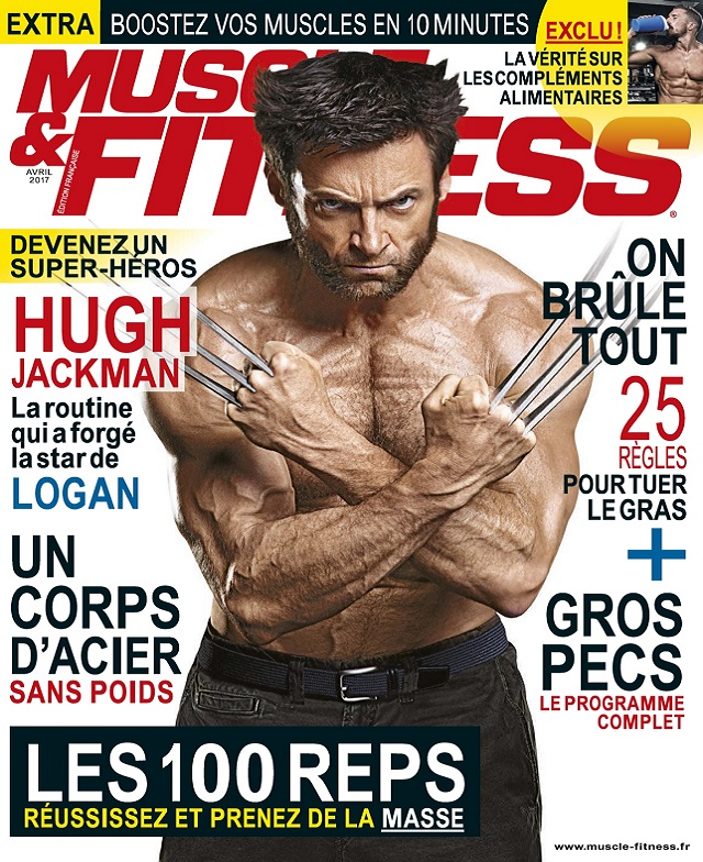 Muscle et Fitness N°354 – Avril 2017