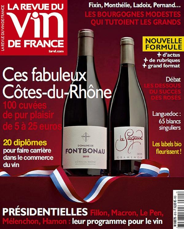 La Revue Du Vin De France N°610 - Avril 2017