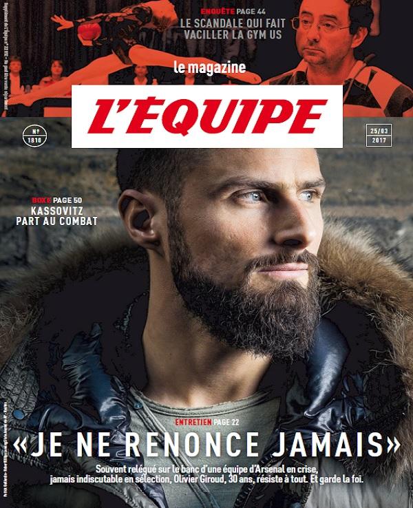 L'Equipe Magazine N°1810 Du 25 Mars 2017
