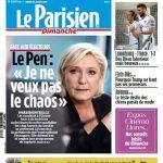 Le Parisien Dimanche + Supplément Ile De France Du 26 Mars 2017