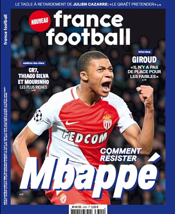 France Football N°3699 Du 28 Mars 2017