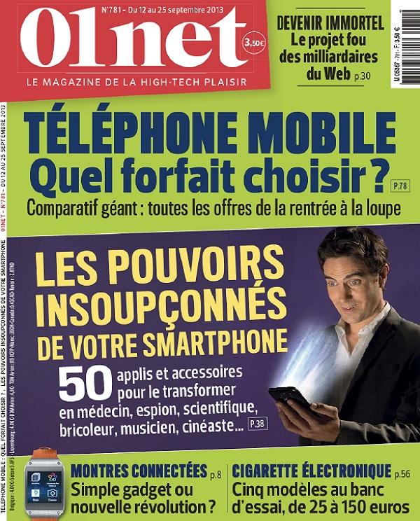 01Net N°781 – Téléphone Mobile : Quel Forfait Choisir ?