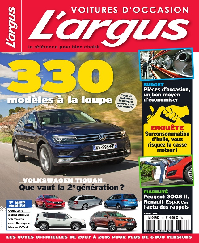 L'Argus Voitures d'Occasion N°11 – Avril 2017