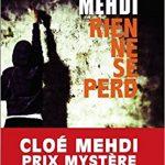Rien ne se perd de Cloé Mehdi 2017