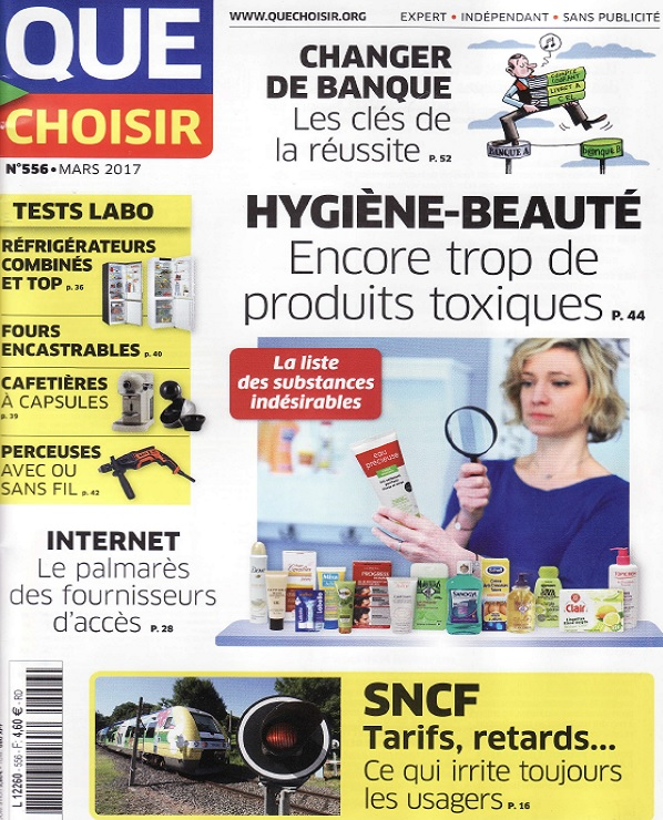 Que Choisir N°556 Mars 2017 Telecharger Des Magazines