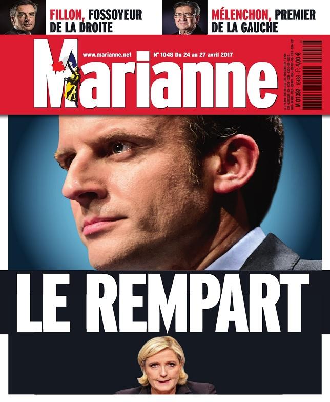 Marianne N°1048 Du 24 Avril au 27 Mai 2017