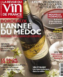 La Revue Du Vin De France N°611 - Mai 2017