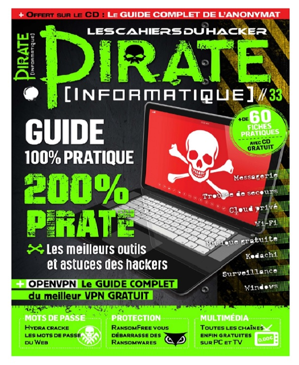Pirate Informatique N°33 – Mai-Juillet 2017