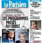 Le Parisien + Journal De Paris Du Samedi 29 Avril 2017