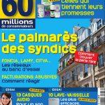 60 Millions De Consommateurs N°468 - Le Palmarès Des Syndics