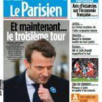 Le Parisien + Journal De Paris + Seine St Denis Du Mardi 9 Mai 2017