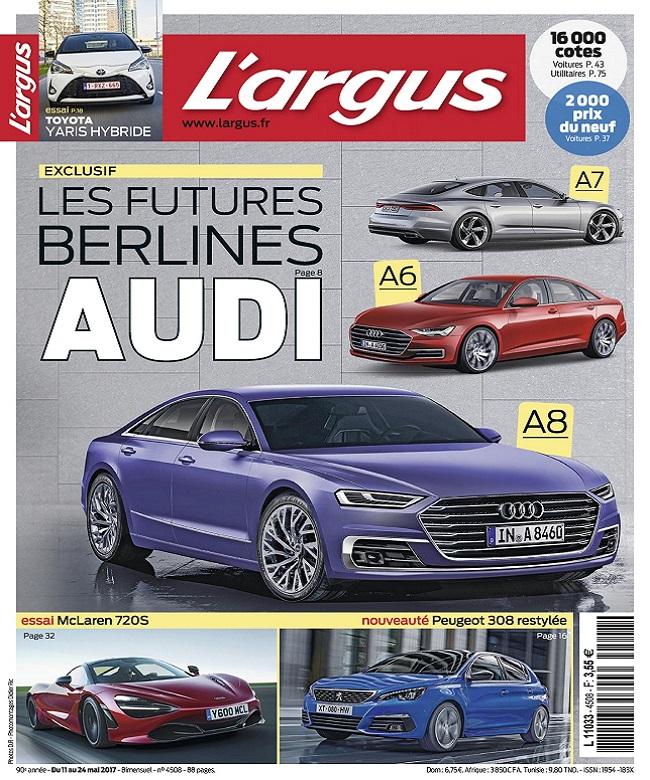L'Argus N°4508 Du 11 au 24 Mai 2017