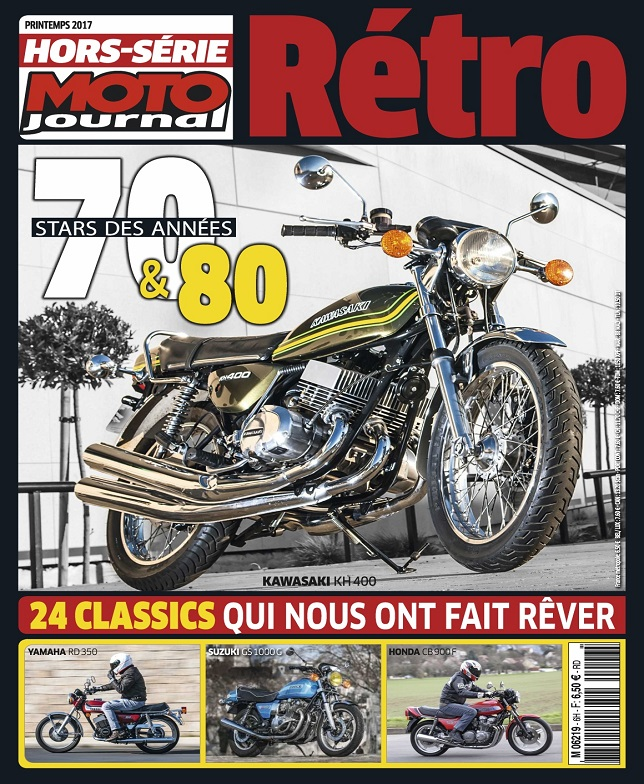 Moto Journal Hors Série N°2962 – Printemps 2017