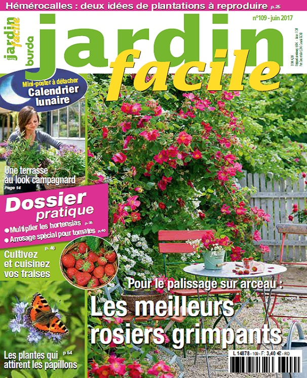 Jardin Facile N°109 – Juin 2017