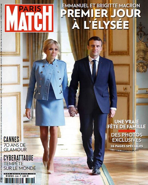Paris Match N°3548 Du 18 Au 23 Mai 2017
