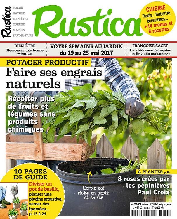 Rustica N°2473 Du 19 Au 25 Mai 2017