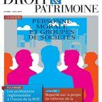 Droit et Patrimoine N°269 - Mai 2017
