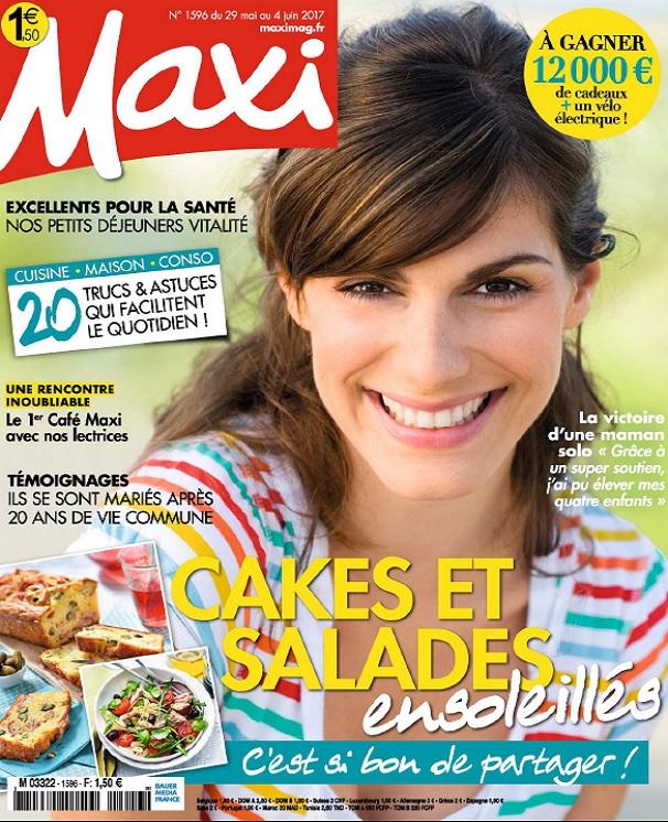 Maxi N°1596 Du 29 Mai Au 4 Juin 2017