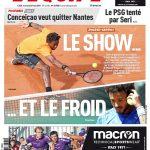 L'Equipe Du Mercredi 31 Mai 2017