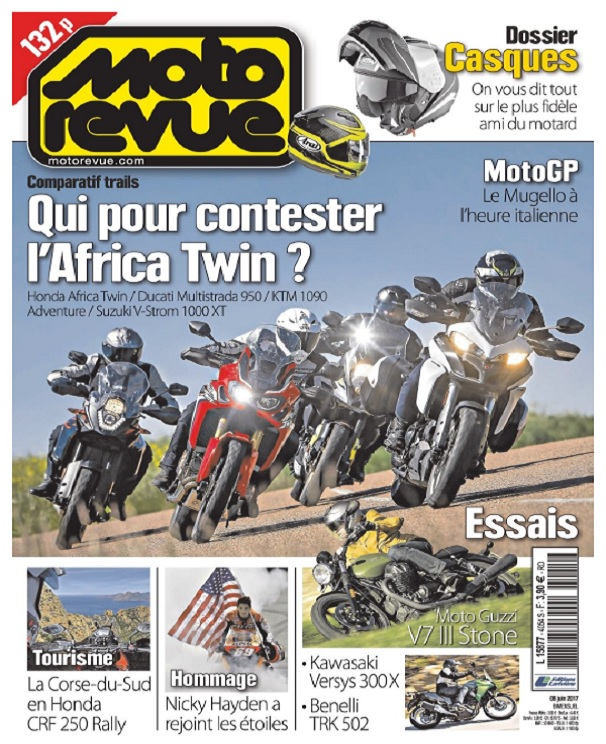 Moto Revue N°4054 Du 7 Juin 2017