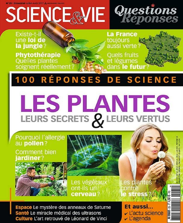 Science et Vie Questions Réponses N°25 – Juillet-Août 2017