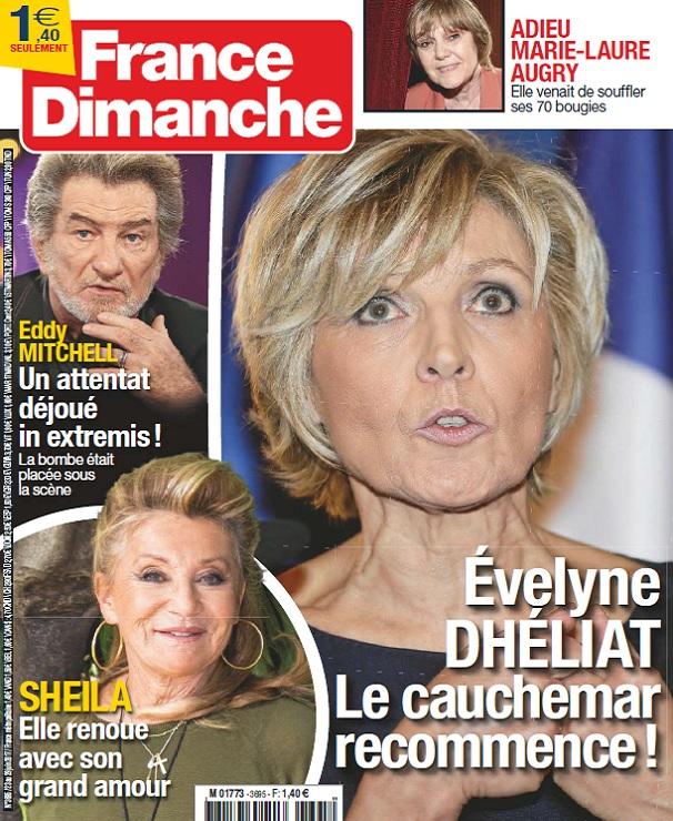 France Dimanche N°3695 Du 23 au 29 Juin 2017