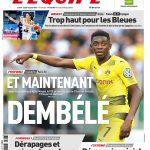 L'Equipe Du Lundi 26 Juin 2017