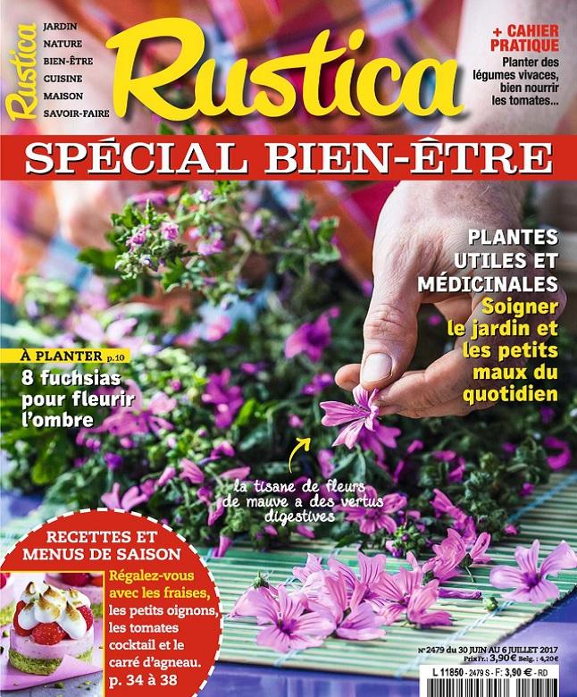 Rustica N°2479 Du 30 Juin au 6 Juillet 2017