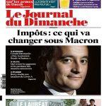 Le Journal Du Dimanche N°3678 Du 9 Juillet 2017