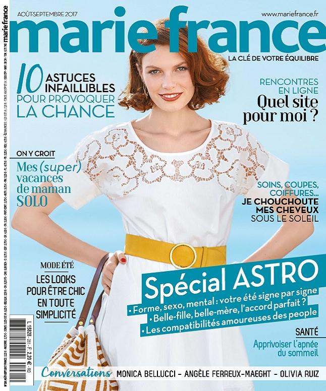 Marie France N°261 – Août-Septembre 2017