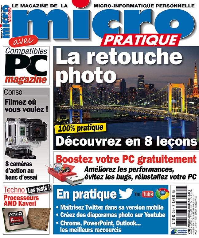 Micro Pratique N°210 – La Retouche Photo
