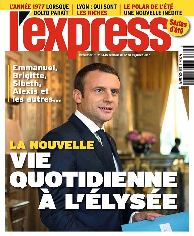 L'Express N°3445 Du 12 au 18 Juillet 2017