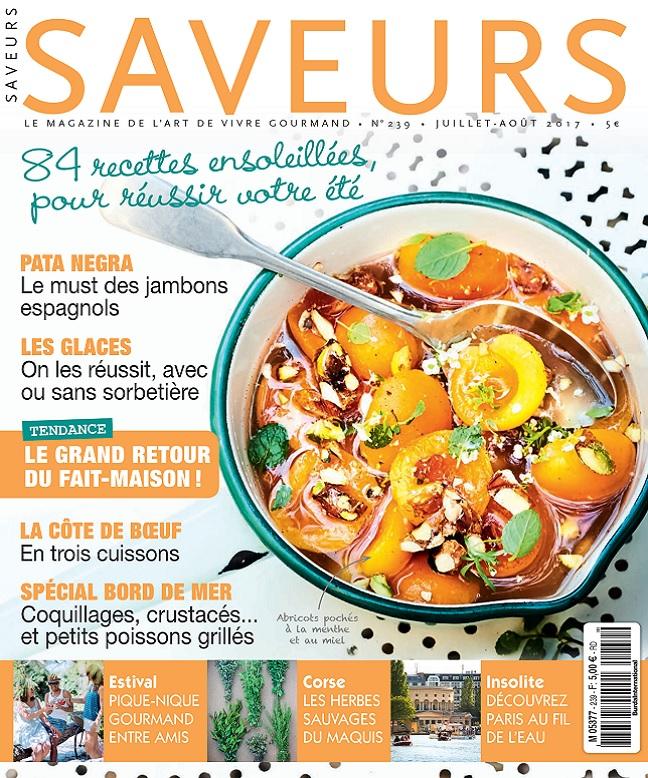 Saveurs N°239 – Juillet-Août 2017