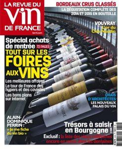 La Revue Du Vin De France N°614 - Septembre 2017
