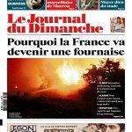 Le Journal Du Dimanche N°3683 Du 13 Août 2017